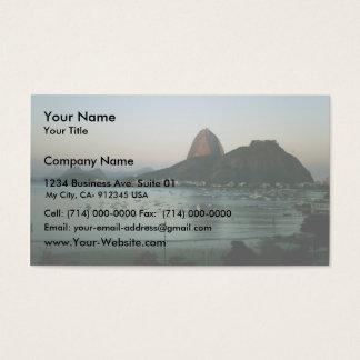 Île de Rio de Janeiro Cartes De Visite