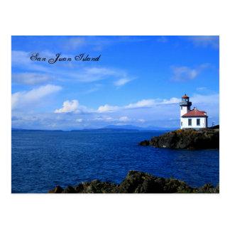 Île de San Juan Carte Postale
