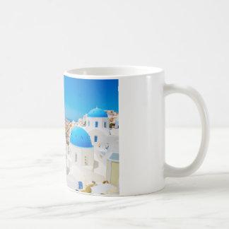 Île de Santorini - caldeira, Grèce Mug