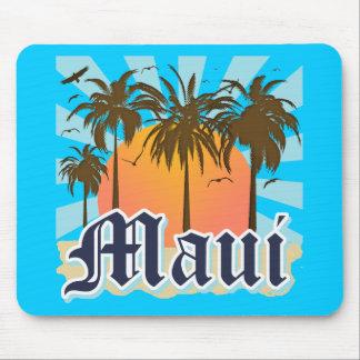 Île de souvenir de Maui Hawaï Tapis De Souris