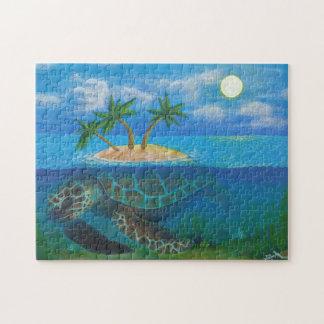 Île de tortue puzzle