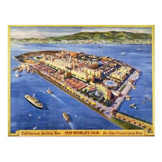 Île de trésor de San Francisco Carte Postale