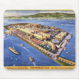 Île de trésor de San Francisco Tapis De Souris
