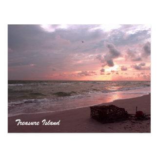 Île de trésor, la Floride Carte Postale