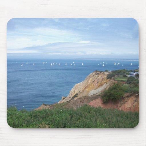 Île de Wight Tapis De Souris