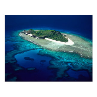 Île d'Eori, îles de Mamanuca, Fidji - antenne Carte Postale