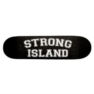 Île forte, NYC, Etats-Unis Plateau De Skate