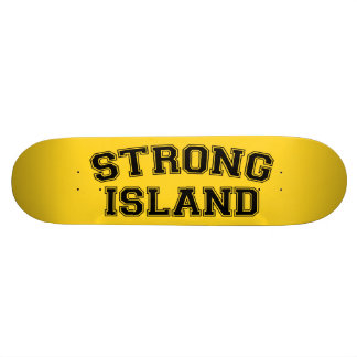 Île forte, NYC, Etats-Unis Skateboards Personnalisés