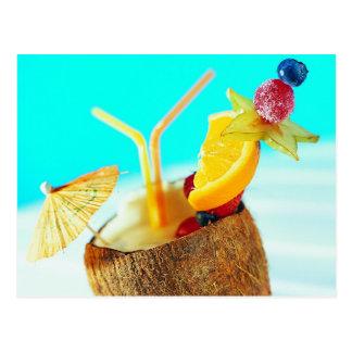 Île fruitée Refreshement Cartes Postales