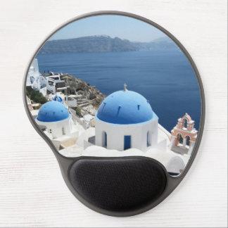 Île Grèce de Santorini Tapis De Souris Gel