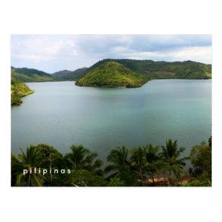 île philippine carte postale