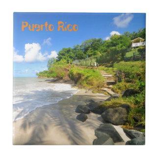 Île tropicale à Porto Rico Petit Carreau Carré