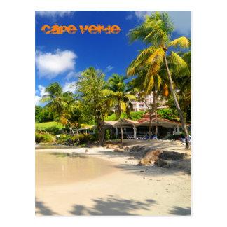 Île tropicale au Cap Vert Carte Postale