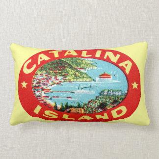 Île vintage la Californie de Catalina Coussin Décoratif