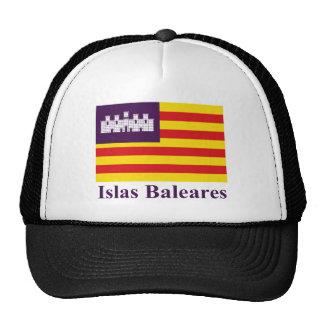Îles Baléares diminuent avec le nom Casquettes