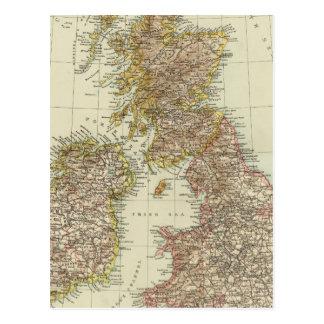 Îles britanniques 10 carte postale