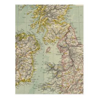 Îles britanniques 11 cartes postales