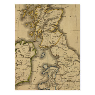 Îles britanniques 2 carte postale