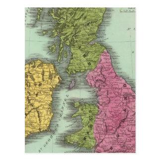Îles britanniques 2 cartes postales
