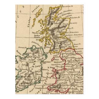 Îles britanniques 3 carte postale