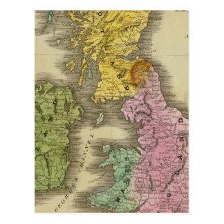 Îles britanniques 3 cartes postales
