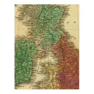 Îles britanniques 4 carte postale