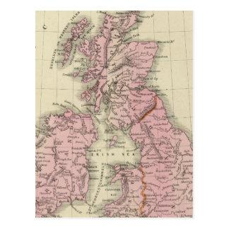 Îles britanniques 5 cartes postales