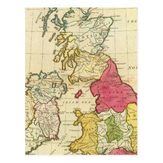 Îles britanniques 6 cartes postales