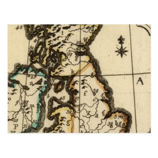 Îles britanniques 7 carte postale