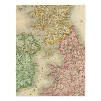 Îles britanniques 8 cartes postales