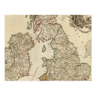 Îles britanniques 9 cartes postales