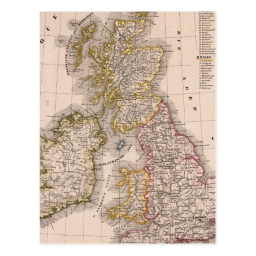 Îles britanniques, Angleterre, Irlande Carte Postale