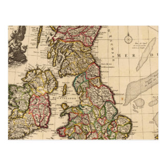 Îles britanniques Angleterre Irlande Carte Postale