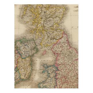 Îles britanniques cartes postales
