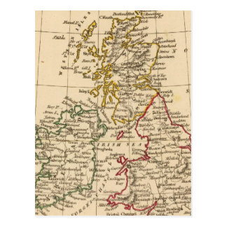 Îles britanniques carte postale