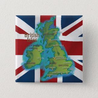 Îles britanniques pin's