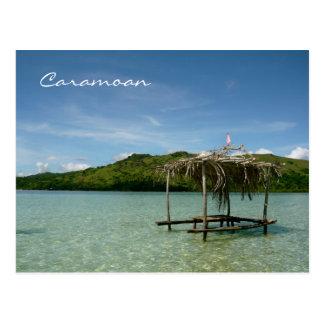Îles de Caramoan - banc de sable de Manlawi Carte Postale