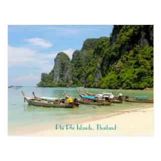 Îles de phi de phi, Thaïlande Carte Postale