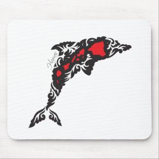 Îles et dauphin d'Hawaï Tapis De Souris