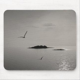 îles et mouettes tapis de souris