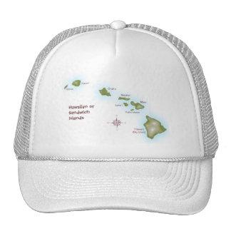 Îles hawaïennes casquette de camionneur
