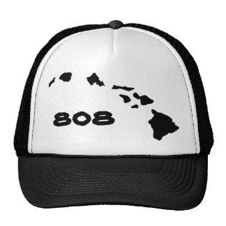 Îles hawaïennes hawaïennes 808 casquettes de camionneur