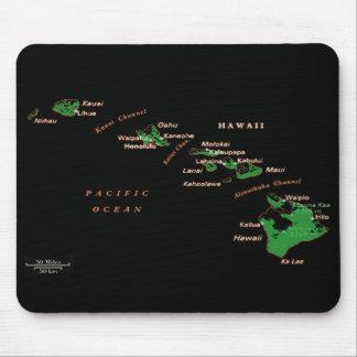 Îles hawaïennes Mousepad Tapis De Souris