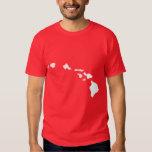 Îles hawaïennes t-shirts