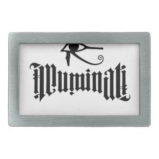 Illuminati Boucles De Ceinture Rectangulaires