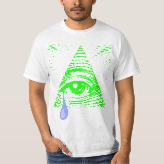 Illuminati pleurant t-shirt