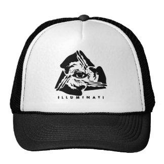 Illuminati tout l oeil voyant casquette de camionneur