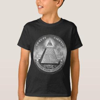 Illuminati tout le maçon voyant d'oeil librement t-shirt