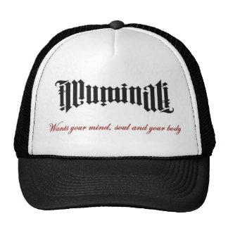 Illuminati vous veut casquette