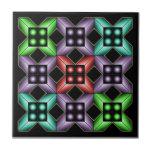 Illusion optique 1 carreau en céramique